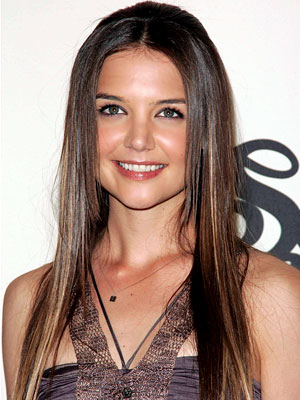 Katie Holmes Sisters on Katie Holmes In Tom Cruise And Katie Holmes   Wedding Day  Leslie