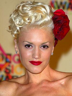 Gwen Stefani Spring Hairstyle 2010