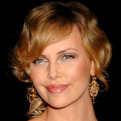 Short Hairstyles for Summer 2010. Celebrities Hairstyle Charlize Theron