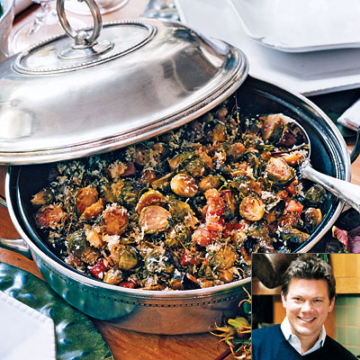 Tyler florence 39 s roasted brussels sprouts thanksgiving Tyler florence recipes turkey
