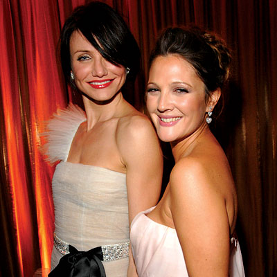 Drew Barrymore, Cameron Diaz, celebrity best friends, best of 2007