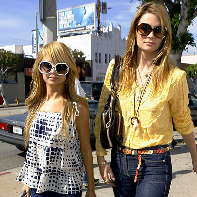 Nicole Richie, Mischa Barton, Best Of 2007, celebrity friends