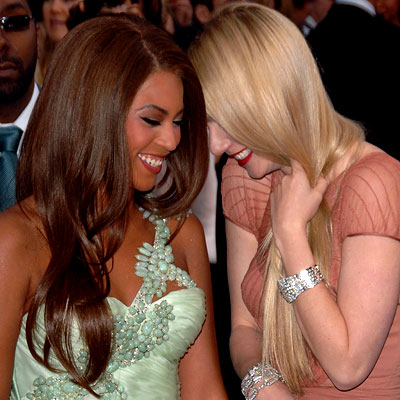 Beyonce Knowles, Gwyneth Paltrow, celebrity best friends, best of 2007