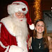 Rachel Bilson, Ben Affleck, Celebs and Santa
