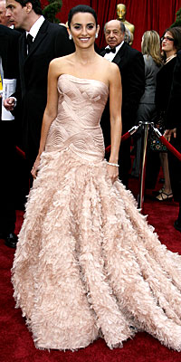 # 5 Penelope Cruz v Chanel Couture, 2007