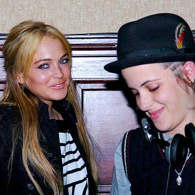 Lindsay Lohan Samantha Ronson 3