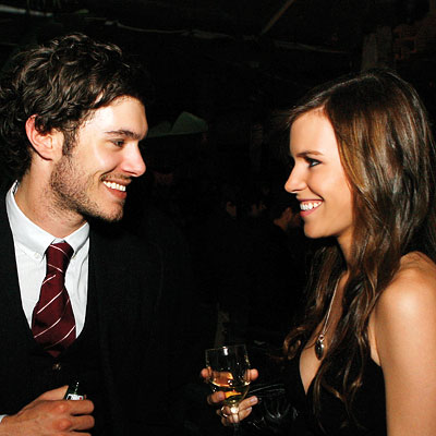 Adam Brody Hair. Adam Brody and Christine
