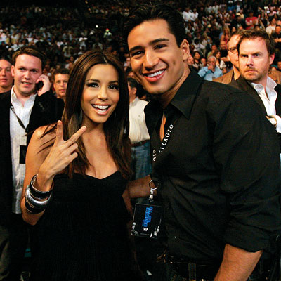 Eva Longoria, Mario Lopez, Best of 2007, Celebrity friends
