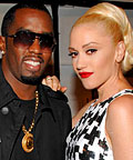 Sean Combs and Gwen Stefani