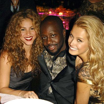 Shakira, Wyclef Jean, Petra Nemcova, OneXOne gala, 2007 Toronto Film