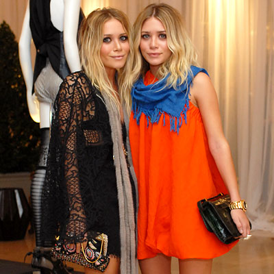 Mary-Kate and Ashley Olsen, Elizabeth and James launch party, Neiman Marcus, Los Angeles