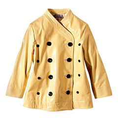 Chris Benz Leather Coat