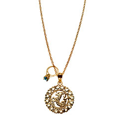 Maya Brenner Zodiac Pendant