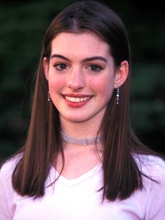 Anne Hathaway, transformation, Get Real, celebrity hair, celebrity makeup