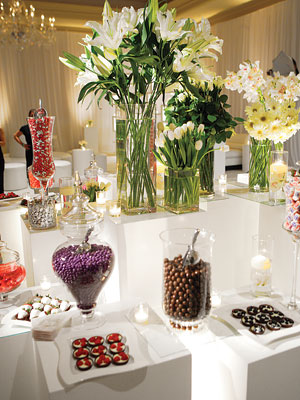 wedding chocolate fountain Cross Candy 300X400 Candy Station Sample 1