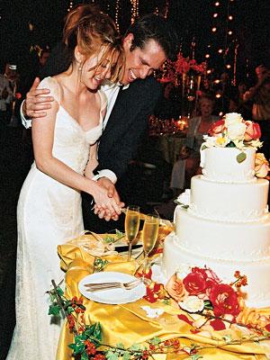 the cake celebrity wedding alyson hannigan amp alexis