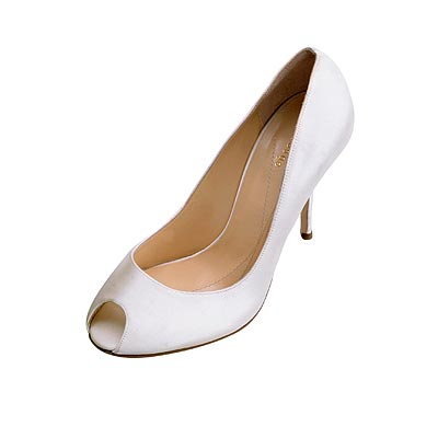 small top hole bridal shoes 2009