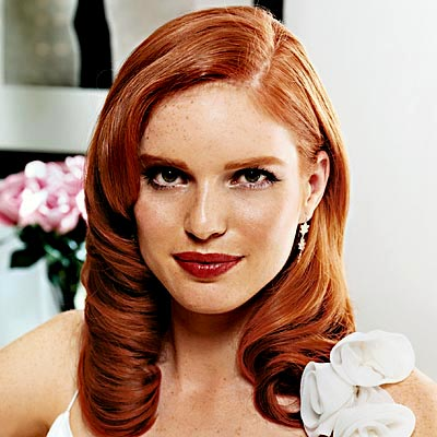 Pictures of Redheads hair makeup photo 55931-3
