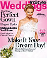 In Style Weddings magazine cover