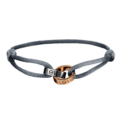 Cartier Love Charity bracelet, ovarian cancer, gray cord, meaning, cartier charity