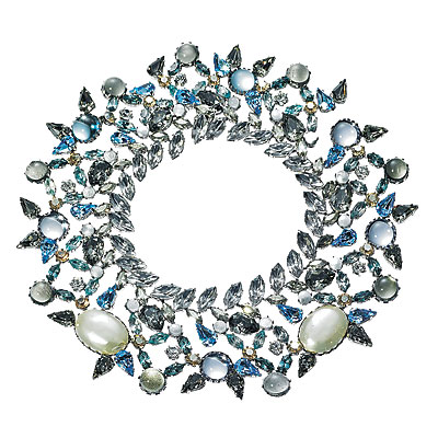 Balenciaga - Statement Necklaces - Fall Accessories Report 2008 - Trends - In Style :  swarovski cuff crystal cuffs