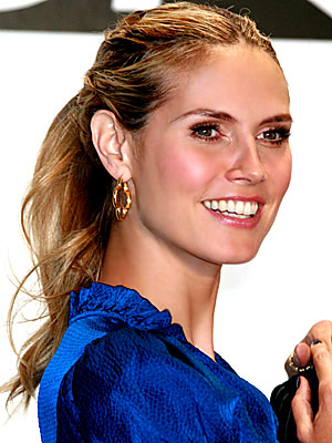 heidi klum hair. Every Time - Heidi Klum