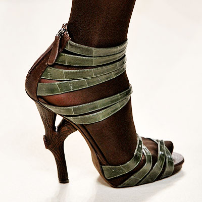 Emanuel Ungaro Sandals - Editors' Fall Shoe Picks - The Ultimate Shoe Guide 2008 - Trends - In Style from instyle.com