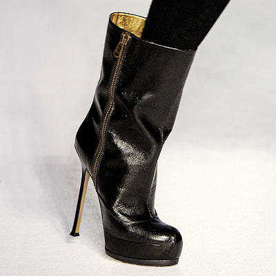 Yves Saint Laurent Boots - Editors' Fall Shoe Picks - The Ultimate Shoe Guide 2008 - Trends - In Style from instyle.com