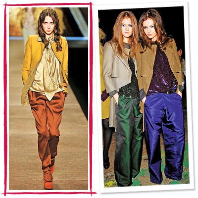 Fall Trends, Slouchy, Proenza Schouler, Nina Ricci