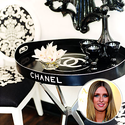 Nicky Hilton's Chanel Tray - Best Vintage Finds - Celebrity Life, etc. - Celebrity - In Style from instyle.com