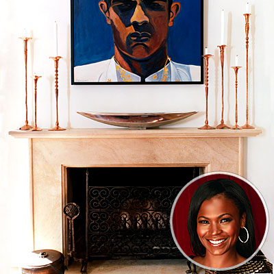 Nia Long's Fireplace Screen, Best Vintage Finds
