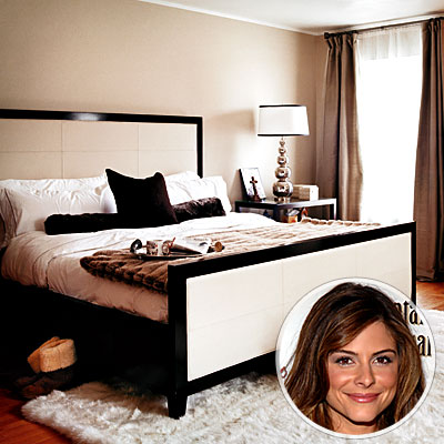 Maria Menounos's Master Bedroom - Celebs' Favorite Rooms - Celebrity