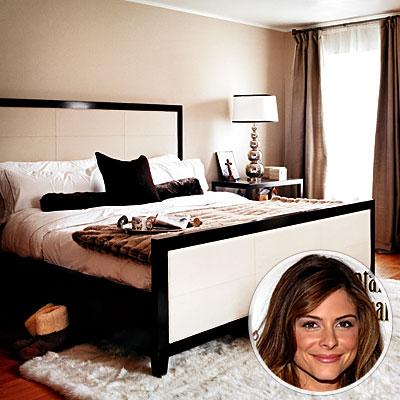 Maria Menounos's Master Bedroom, Celebs' Favorite Room