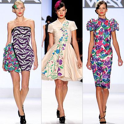 Catwalk Fashion Photos on Runway   New York Fashion Week   Fashion Week Spring 2009   Fashion