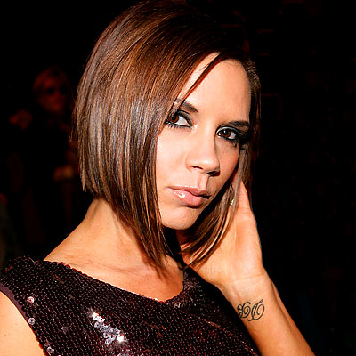 Victoria Beckham Celebrity Tattoos Revealed