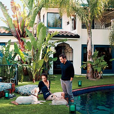 Jessica Alba and Cash Warren, Star Homes, L.A.