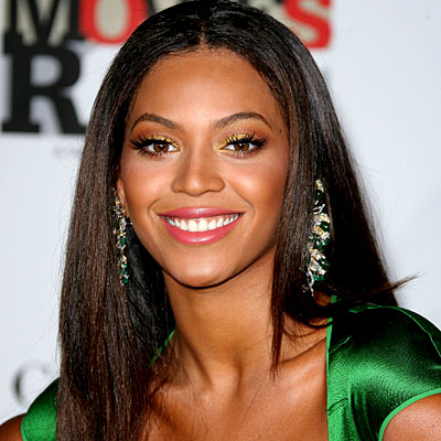 beyonce with dark hair
