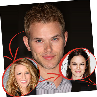 Kellan Lutz to Kristen Stewart. Kellan Lutz was in Accepted with Blake