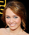 Miley Cyrus, eyeliner