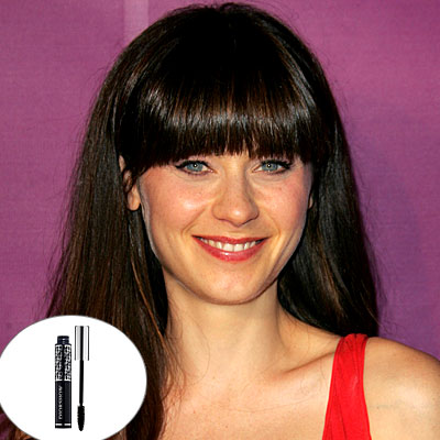 Zooey Deschanel Makeup by 123peppy.com