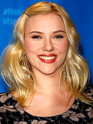 Scarlett Johansson Daily Beauty Flash Hair