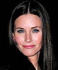 Courteney Cox, Sephora Lower Lash Curler, Blinc Kiss Me mascara, tools