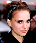 Natalie Portman, Jennifer Behr Overlapping Crystal Twist, hair accessories