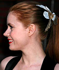 Amy Adams, Jennifer Behr Patent Orchid Hairpin, hair accessories