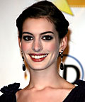 Anne Hathaway, Sephora Snag-Free Hair Elastics in Clear, hair, hair accessories
