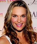 Molly Sims, Givenchy Rouge Interdit Satin Lipstick in Fantasy Pink, lipstick, lip balms