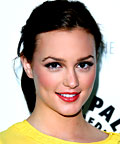 Leighton Meester, eyeliners, eye shadows