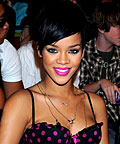 Rihanna, Cover Girl Wetslicks Fruit Spritzer lip gloss in Raspberry Splash, lipsticks, eyeliners