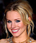 Kristen Bell, eye shadow