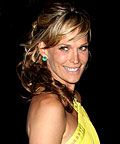 Molly Sims, Sebastian Shaper hairspray, styling products, hair